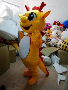 竜 カートゥーン 人形 コスチューム 舞台衣装