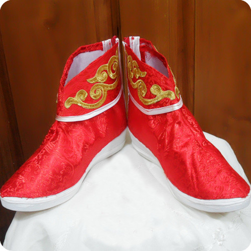 コスプレ靴 真三國無双6 大喬 赤い靴