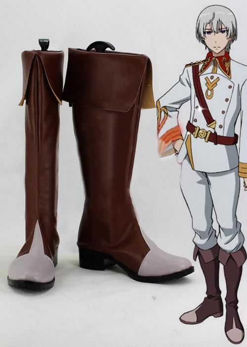 革命機ヴァルヴレイヴ エルエルフ コスプレ靴ブーツ