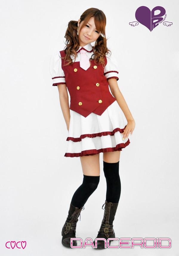 DANCEROID(ダンスロイド) 舞台演出服 ダンス服 コスプレ衣装