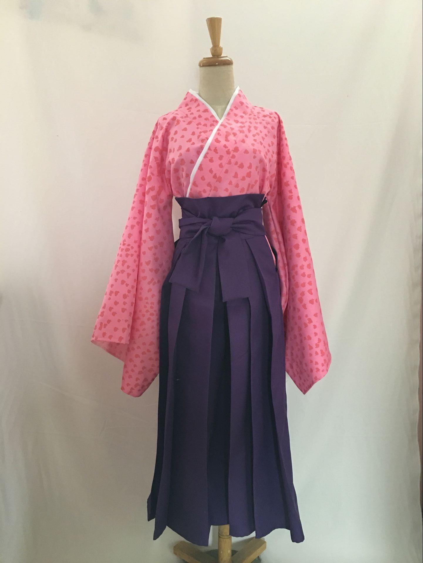 曇天に笑う 牡丹 和服 ☆コスプレ衣装 着物