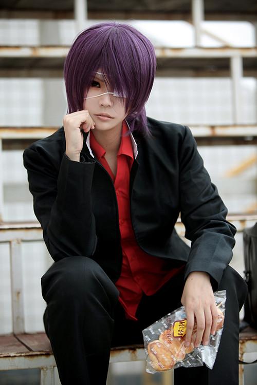銀魂Gintama 3年Z組 高杉晋助(たかすぎ しんすけ) 高校制服 コスプレ衣装