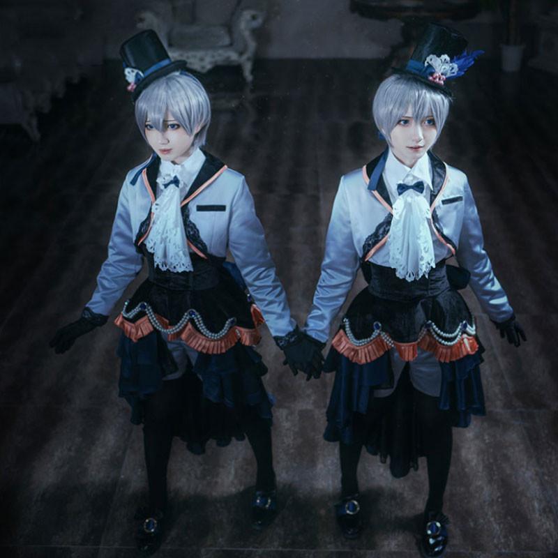 黒執事 コスプレ シエル・ファントムハイヴ 坊ちゃん 双子 礼服
