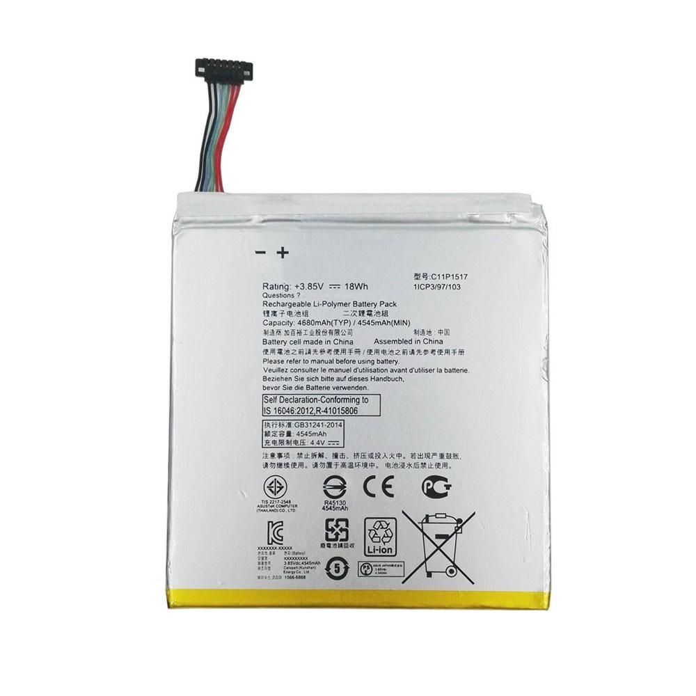 ASUS(アスス)(リチウムイオン)C11P1517電池/バッテリー交換、ASUS ZenPad 10 Z300M 10.1
