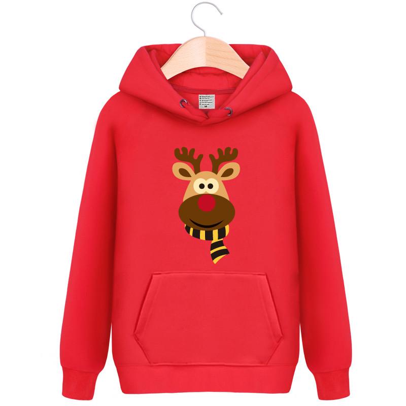 2016新品クリスマスバーカ 鹿柄 カップル 学生服 4色選択 クリスマスコスプレ衣装