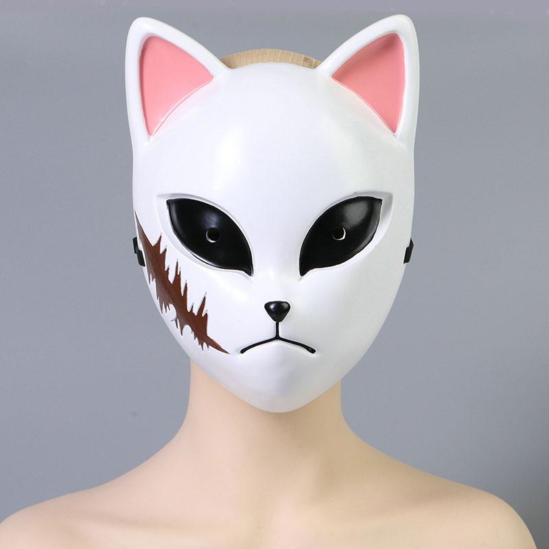 鬼滅の刃 錆兎 狐面 コスプレ道具 炭治郎の兄弟子 マスク