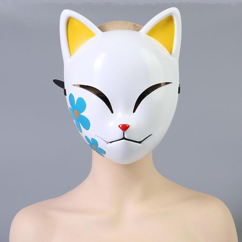 鬼滅の刃 真菰 狐面 コスプレ道具 炭治郎の姉弟子 マスク