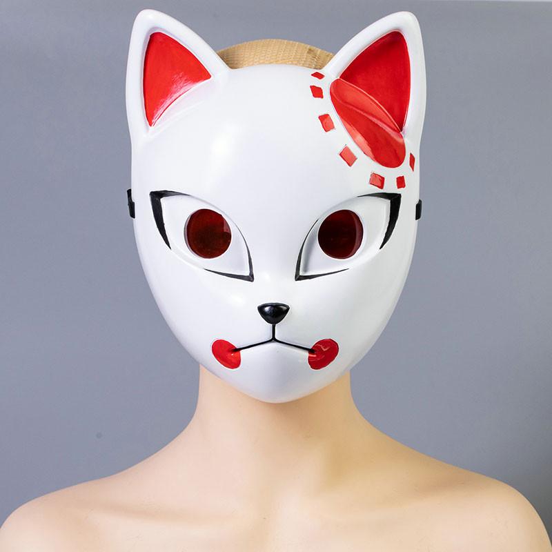 鬼滅の刃 竈門炭治郎 狐面 コスプレ道具 マスク