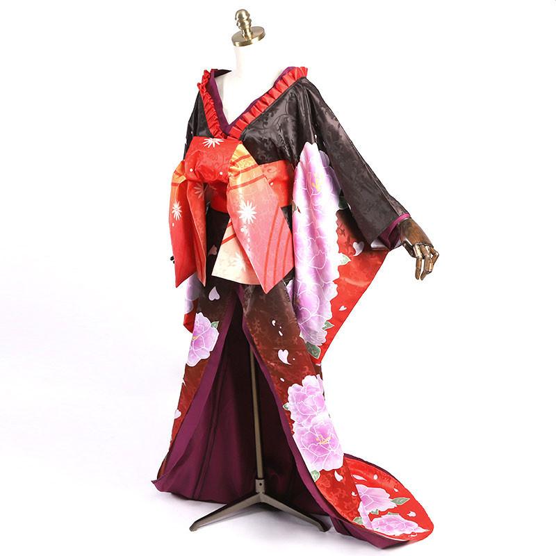 デート・ア・ライブ 時崎狂三 花魁 着物 和風 コスプレ衣装