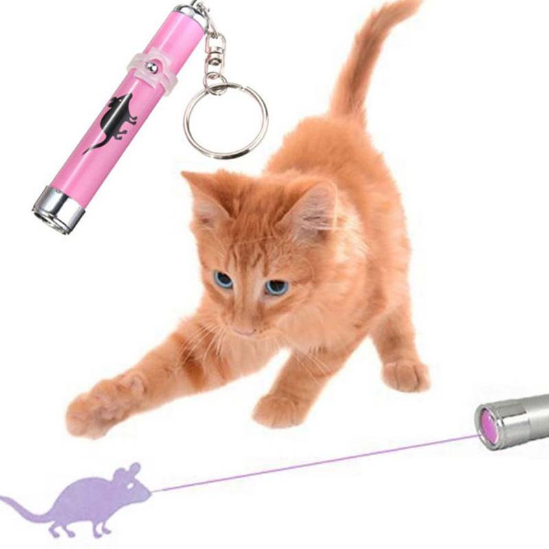 ペット用品 猫用品 ネコ用 LEDレーザ-ポインタ- 猫じゃらし おもちゃ 玩具 遊具 色おまかせ