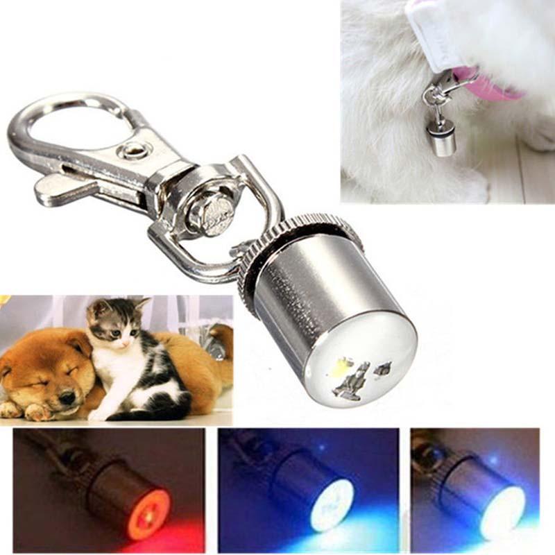 ペット用品 首輪に装着するLEDランプ 光る 散歩