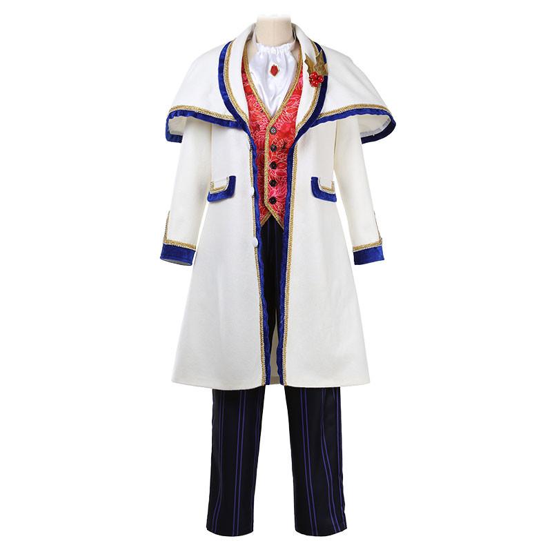 東京ディズニー Disney  ミッキー コート 白ラシャ 男性 仮装 コスチューム