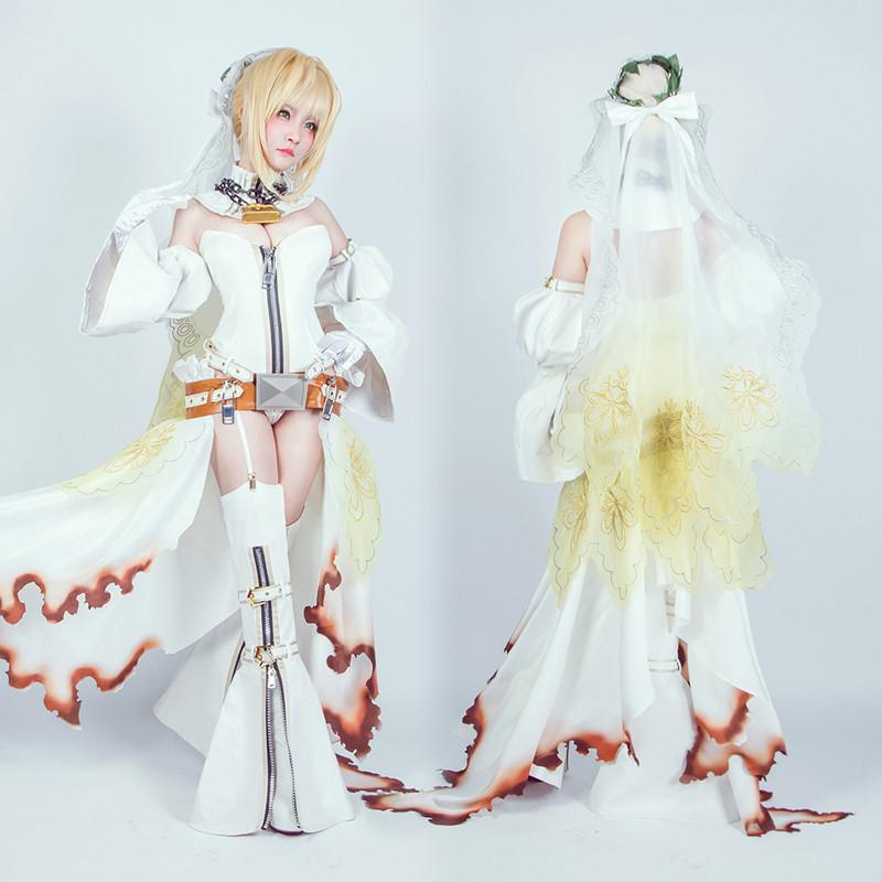 Fate/EXTRA CCC セイバー・ブライド Fate/EXTRA Saber フェイト セイバー 花嫁 嫁セイバー 束縛の花嫁衣装