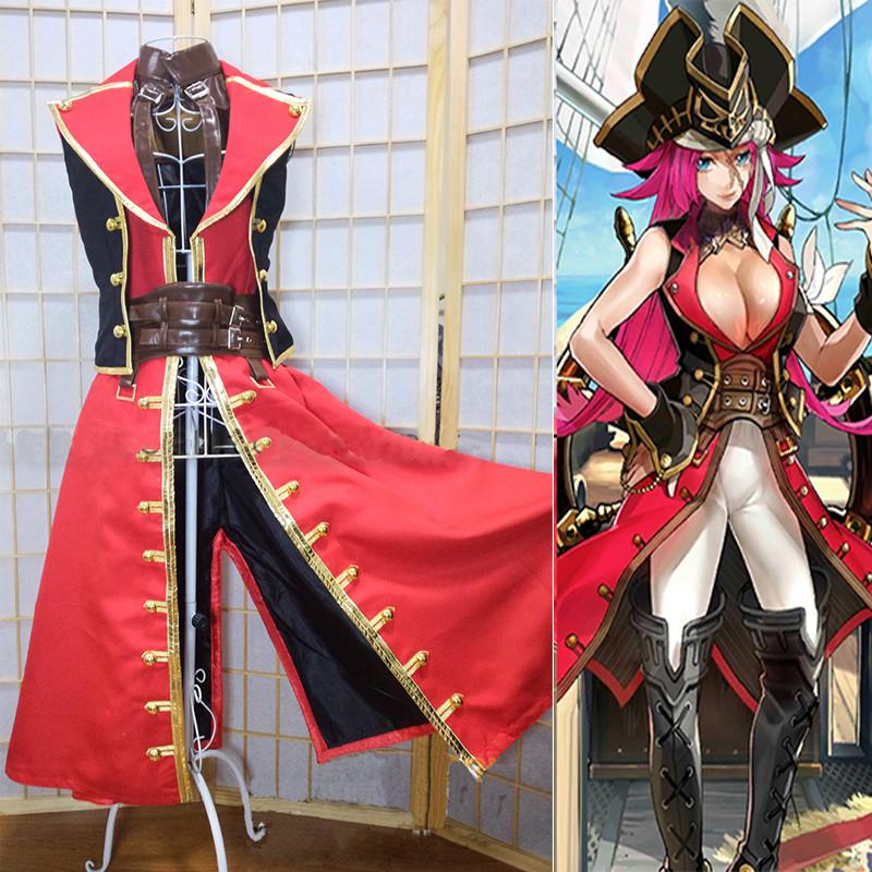 Fate/Grand Order フェイト/グランドオーダ フランシス・ドレイク  船長 コスプレ衣装 オーダーメイド可能