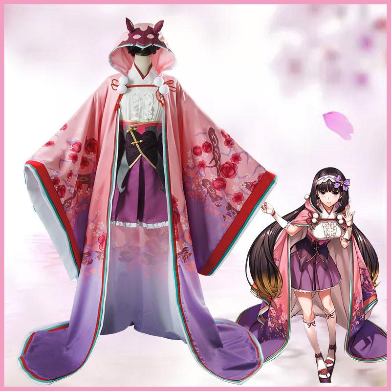 Fate/Grand Order 刑部姫 コスプレ衣装 マント付