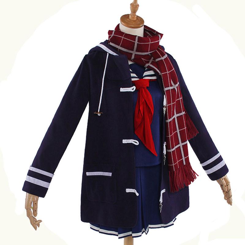 Fate/Grand Order 謎のヒロインX  日常風 黒色冬服  コスプレ衣装
