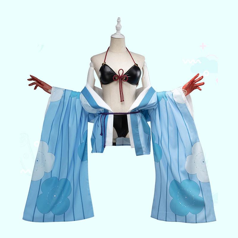 FGO Fate/Grand Order FGO 茨木童子 水着 コスプレ衣装