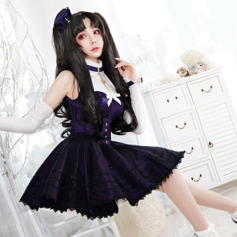 FGO Fate/Grand Order イシュタル 月の彼女 ロリータ コスプレ衣装