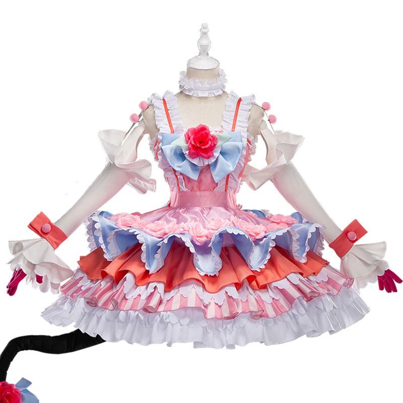 FGO Fate/Grand Order エリザベート バートリー ランサー風  コスプレ衣装 ドレス
