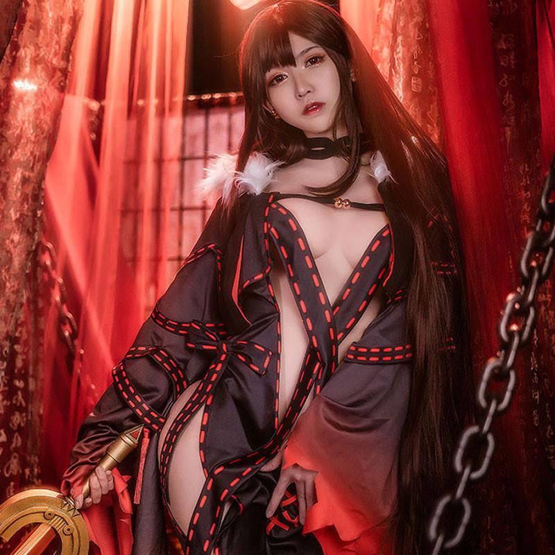 Fate/Grand Order コスプレ 人智統合真国SIN 虞美人 コスプレ 衣装 FGO コスプレ