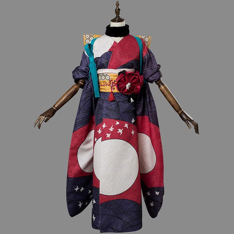 Fate/Grand Order FGO 葛飾北斎 霊基再臨第一段階 コスチューム 着物 コスプレ衣装