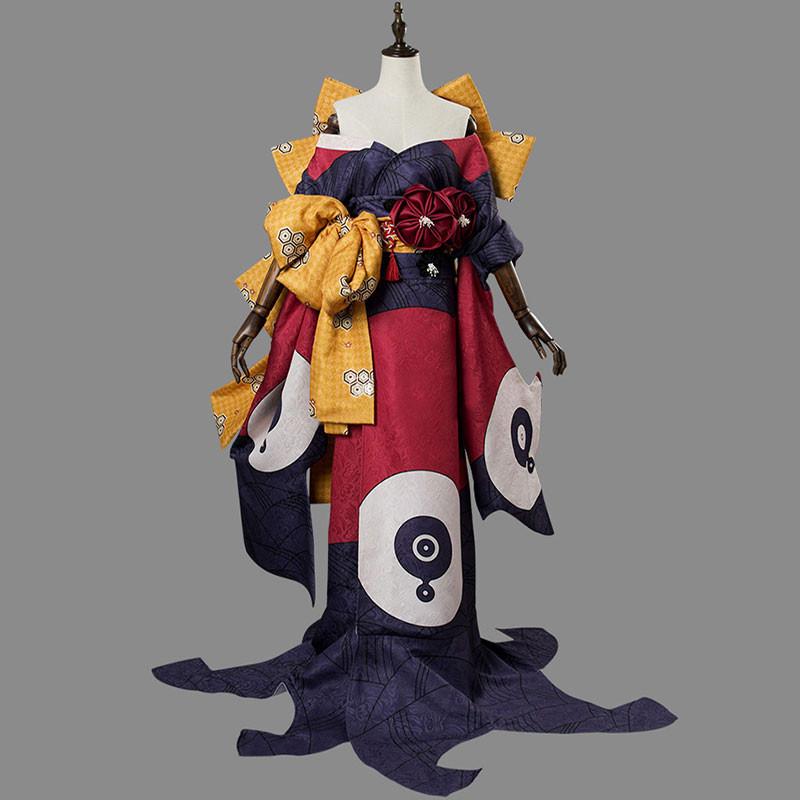 Fate/Grand Order FGO 葛飾北斎 霊基再臨第二段階 コスチューム 着物 コスプレ衣装