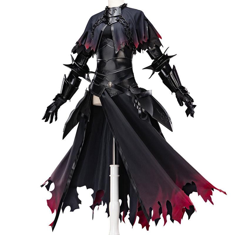 Fate Grand Order  FGO ジャンヌ.ダルク オルタ 黒 コスプレ衣装