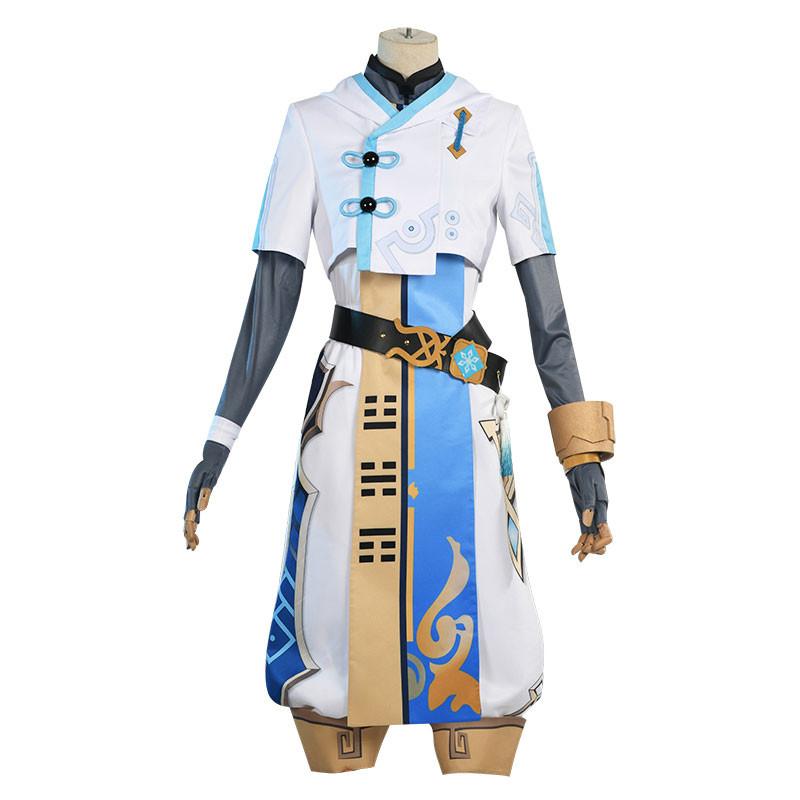 原神 重雲 ゲーム服 仮装 コスチューム セット 氷