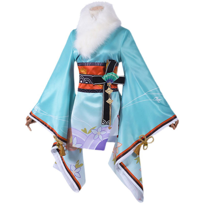原神  神里綾華 和服 新年祝い ゲーム服 コスチューム  仮装