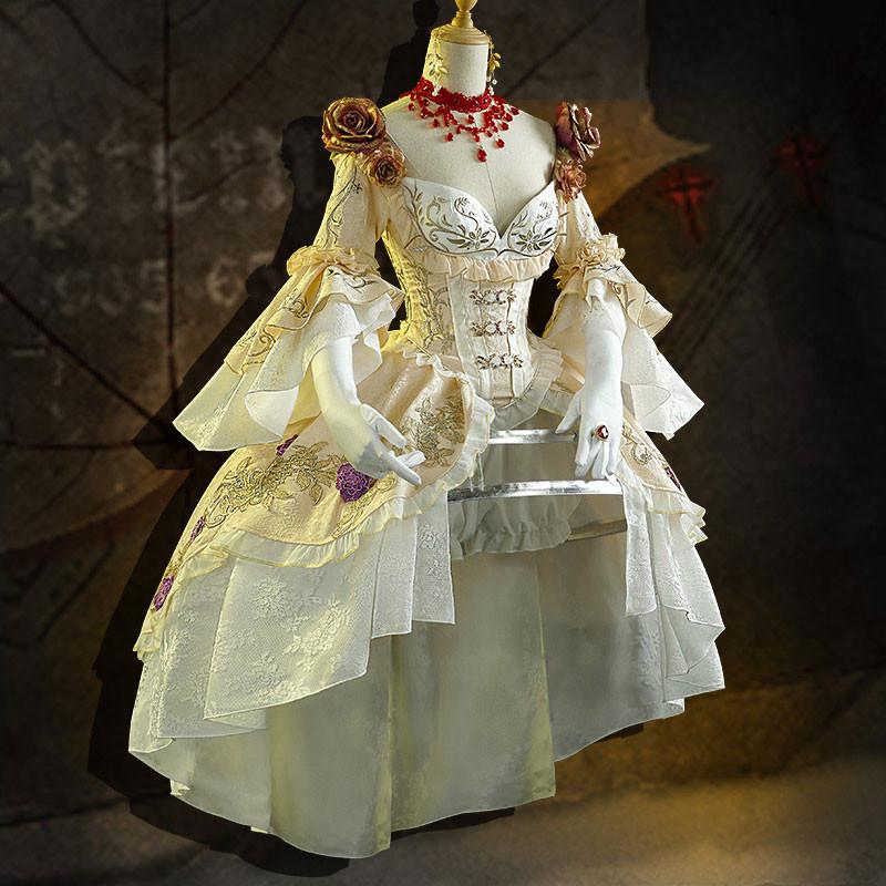 Identity V マリー 血の女王 血祭り コスプレ衣装 洋服