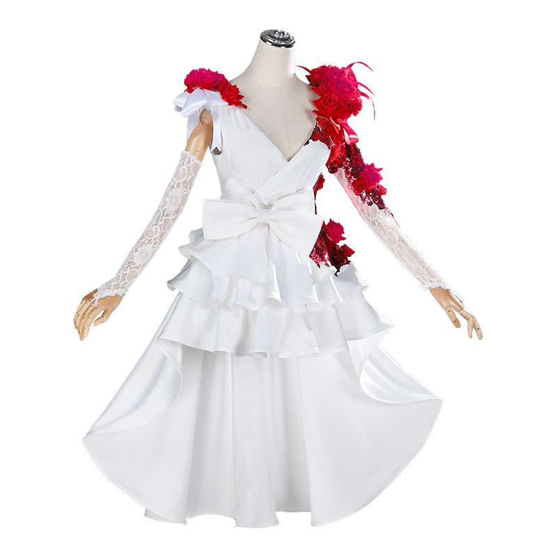 Identity Ⅴ 調香師 スカーレットの新婦 花嫁 ウェディングドレス コスプレ衣装