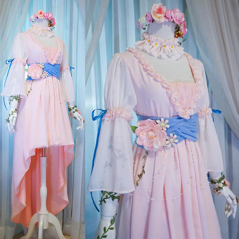 『アイドルマスターシンデレラガールズ』 鷺沢文香 さぎさわふみか コスプレ衣装 SR+美妆の煌めき