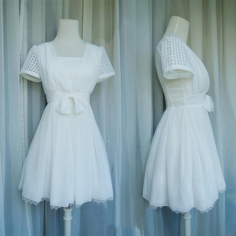 『アイドルマスターシンデレラガールズ』 高垣楓 たかがきかえで 白 ワンピース コスプレ衣装