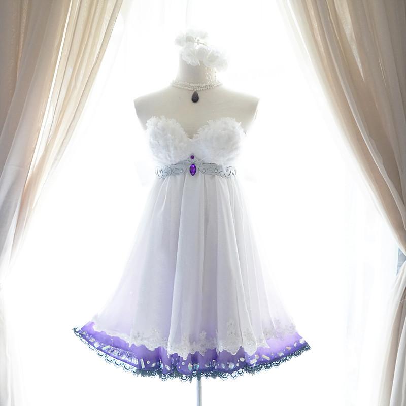 『アイドルマスターシンデレラガールズ』 神崎蘭子 かんざきらんこ コスプレ衣装 魔界の花嫁