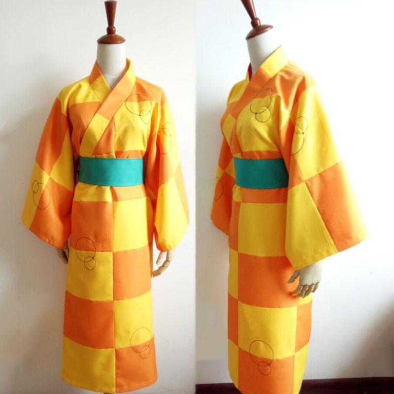 犬夜叉 鈴 コスプレ衣装 和服 着物