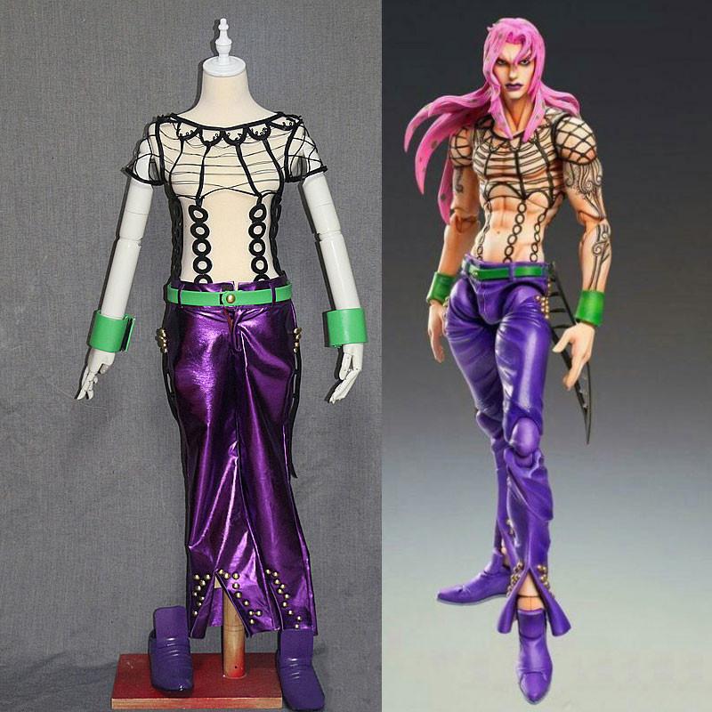 ジョジョの奇妙な冒険5 コスプレ衣装 セット ディアボロ