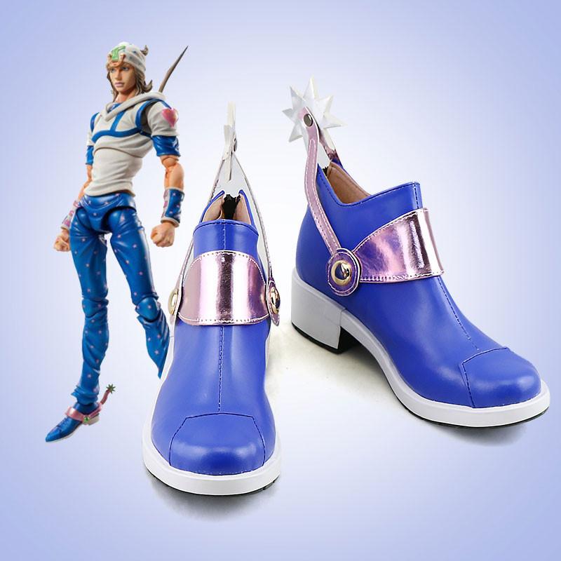 ジョジョの奇妙な冒険 ジョニィ・ジョースタ コスプレ靴 靴