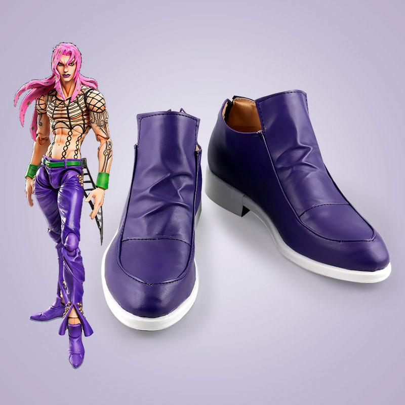 ジョジョの奇妙な冒険 ディアボロ コスプレ靴 靴