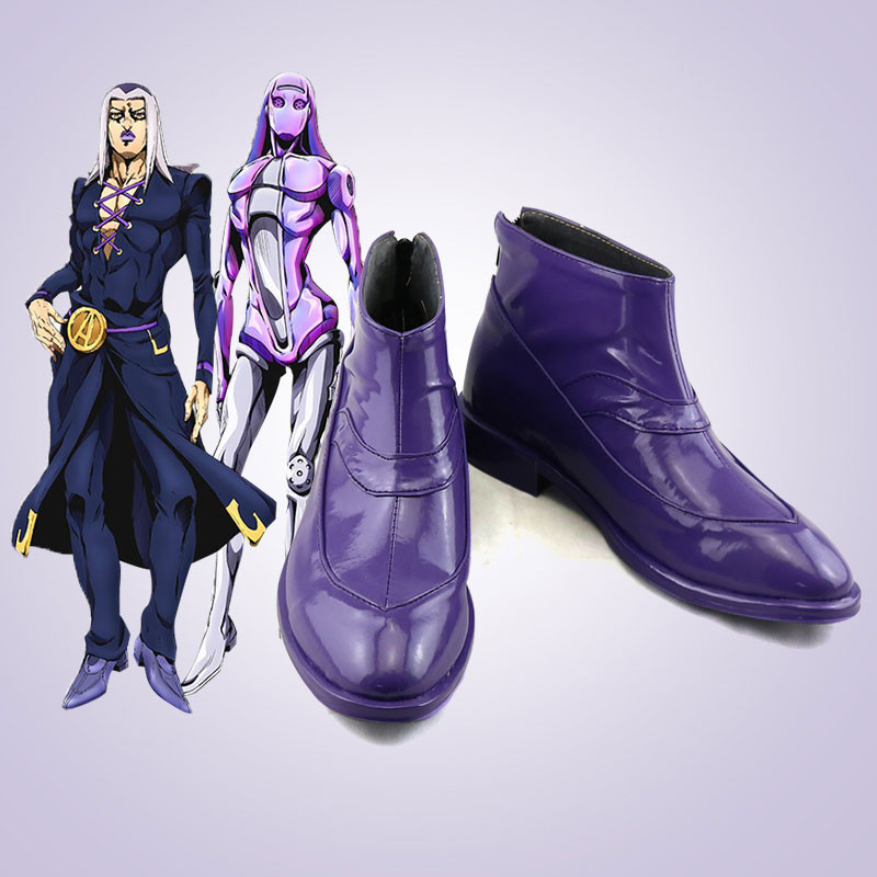 ジョジョの奇妙な冒険 レオーネ・アバッキオ コスプレ靴 靴