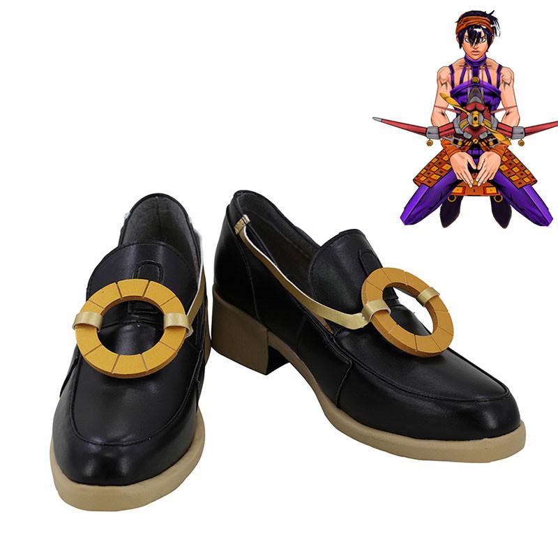 ジョジョの奇妙な冒険 ナランチャ コスプレ靴 靴