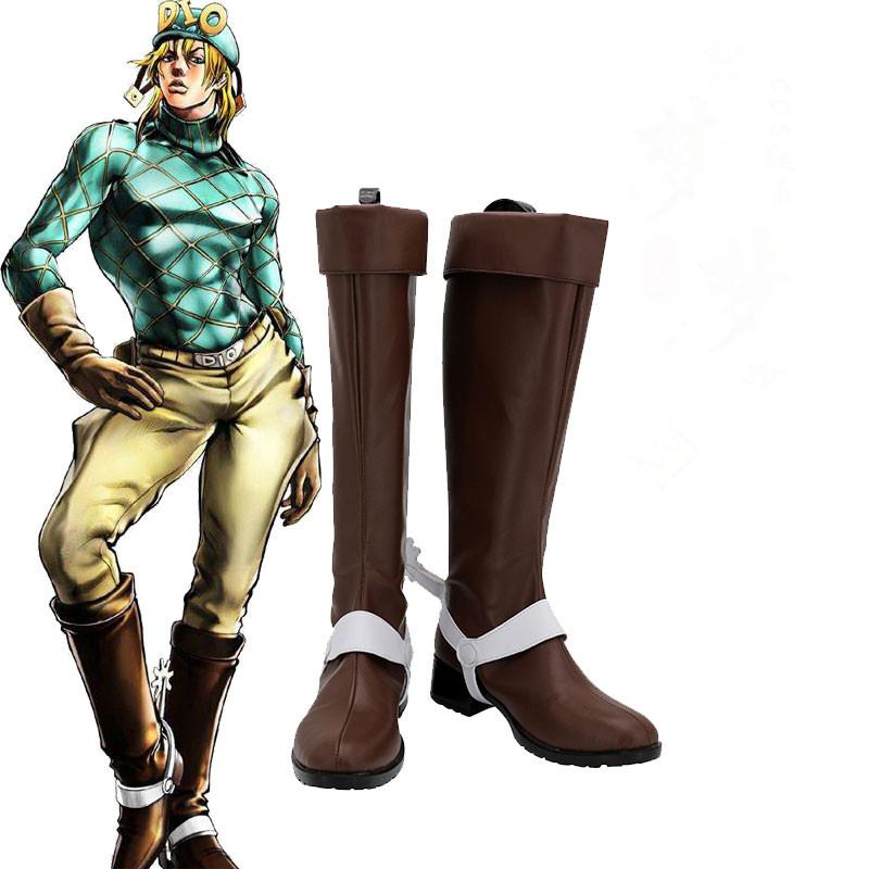 ジョジョの奇妙な冒険 ディエゴ・ブランドー コスプレ靴  靴