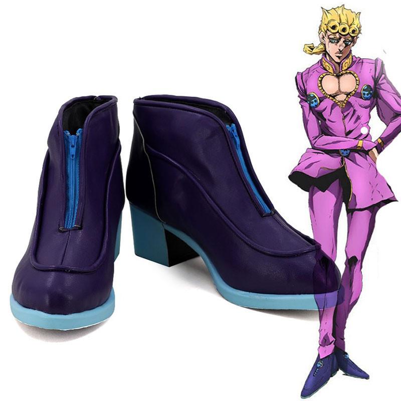 ジョジョの奇妙な冒険 ジョルノ・ジョバァーナ コスプレ靴 靴