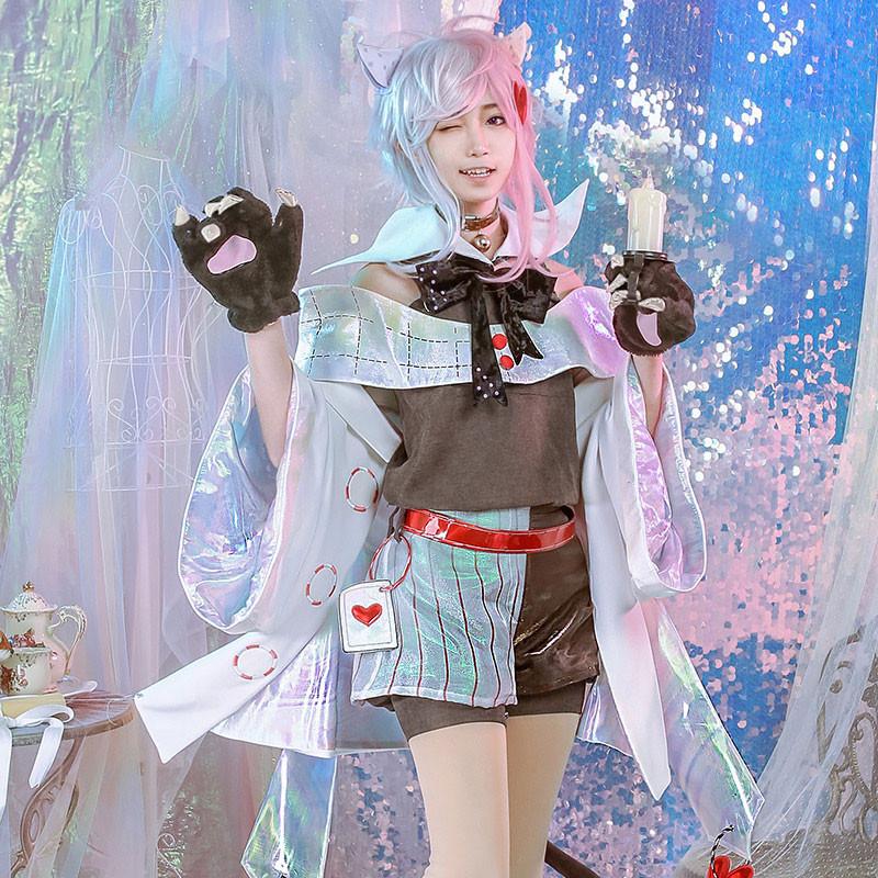 アリス・イン・ワンダーランド チェシャ猫 コスプレ衣装 コスプレ衣装 コスチューム cosplay
