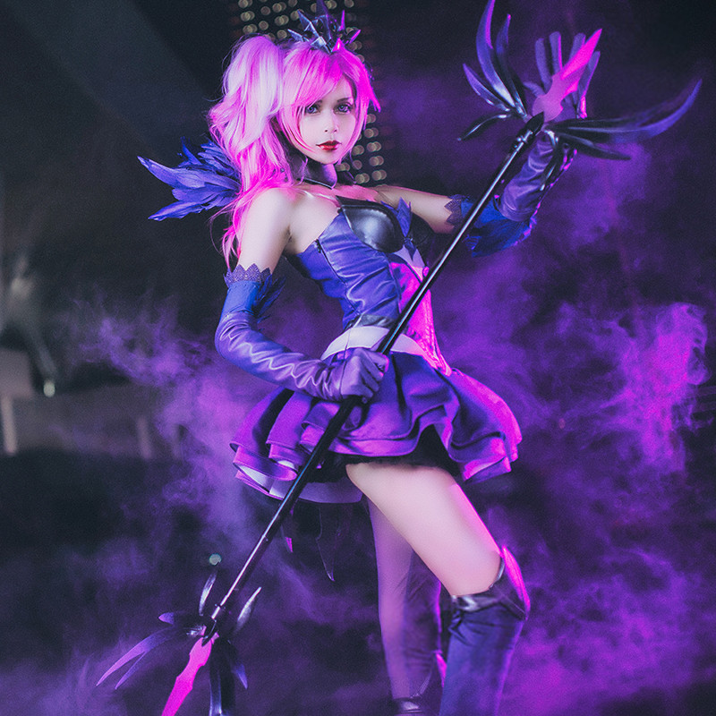 League of Legends LOL ラックス (Lux) 光の少女 コスチューム