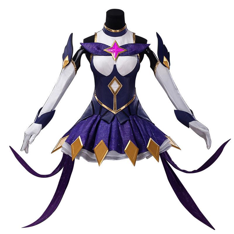 LOL リーグ・オブ・レジェンズ シンドラ コスチューム 暗黒の女王 Syndraコスプレ衣装