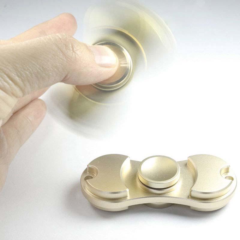 指先ジャイロ 金 ピナー 高速回転 人気な指遊び 減圧指間こま玩具 知育玩具