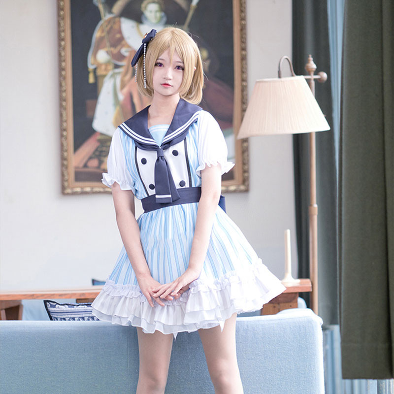 LoveLive! 海賊物語 海賊未覚醒 セーラー服 コスプレ衣装 制服
