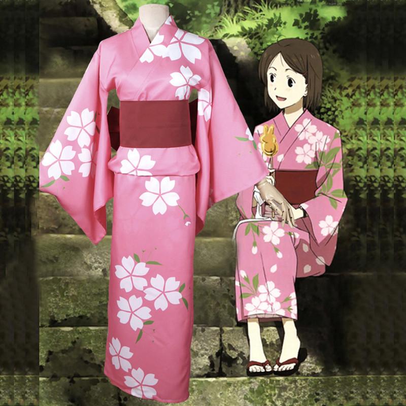 蛍火の杜へ ほたるびのもりへ 竹川蛍 コスプレ衣装 和服 着物