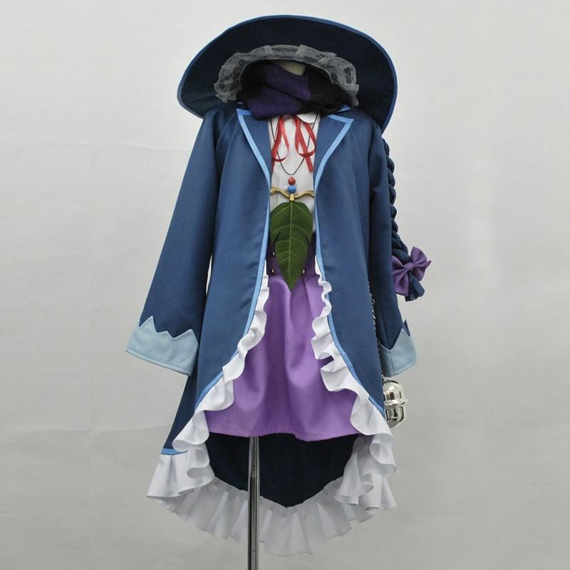 メルクストーリア 異才の劣等生 魔法の国 魔法使い ユルエ ゆるえ コスプレ衣装