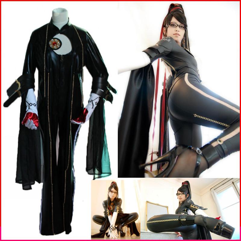 ベヨネッタ Bayonetta 魔女 コスプレ衣装 黒